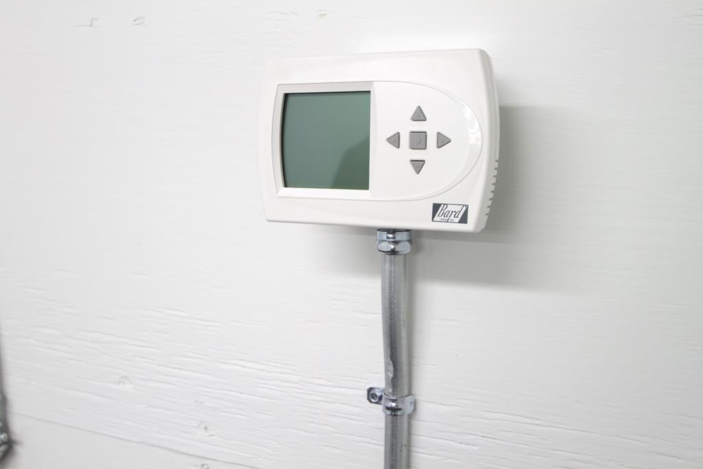 Blast proof building thermostat
