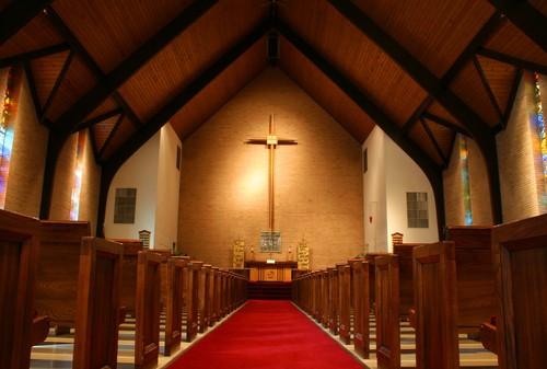 Church in renovation