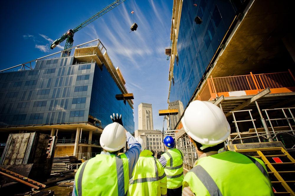 Construction job site