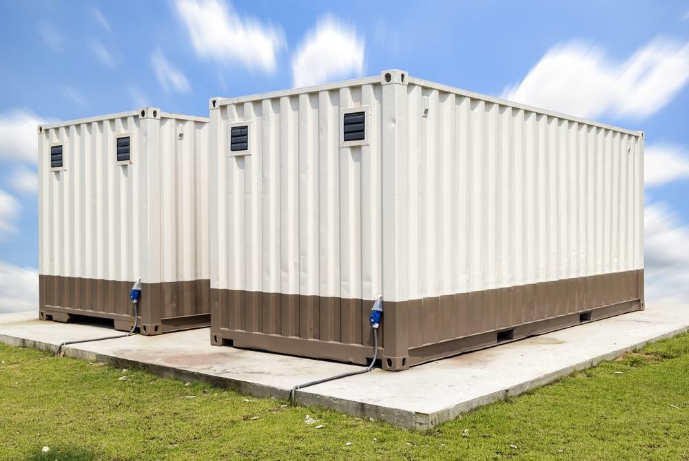 Twin modular buildings