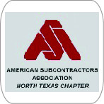 American Subcontractors Association North Texas Chapter Logo