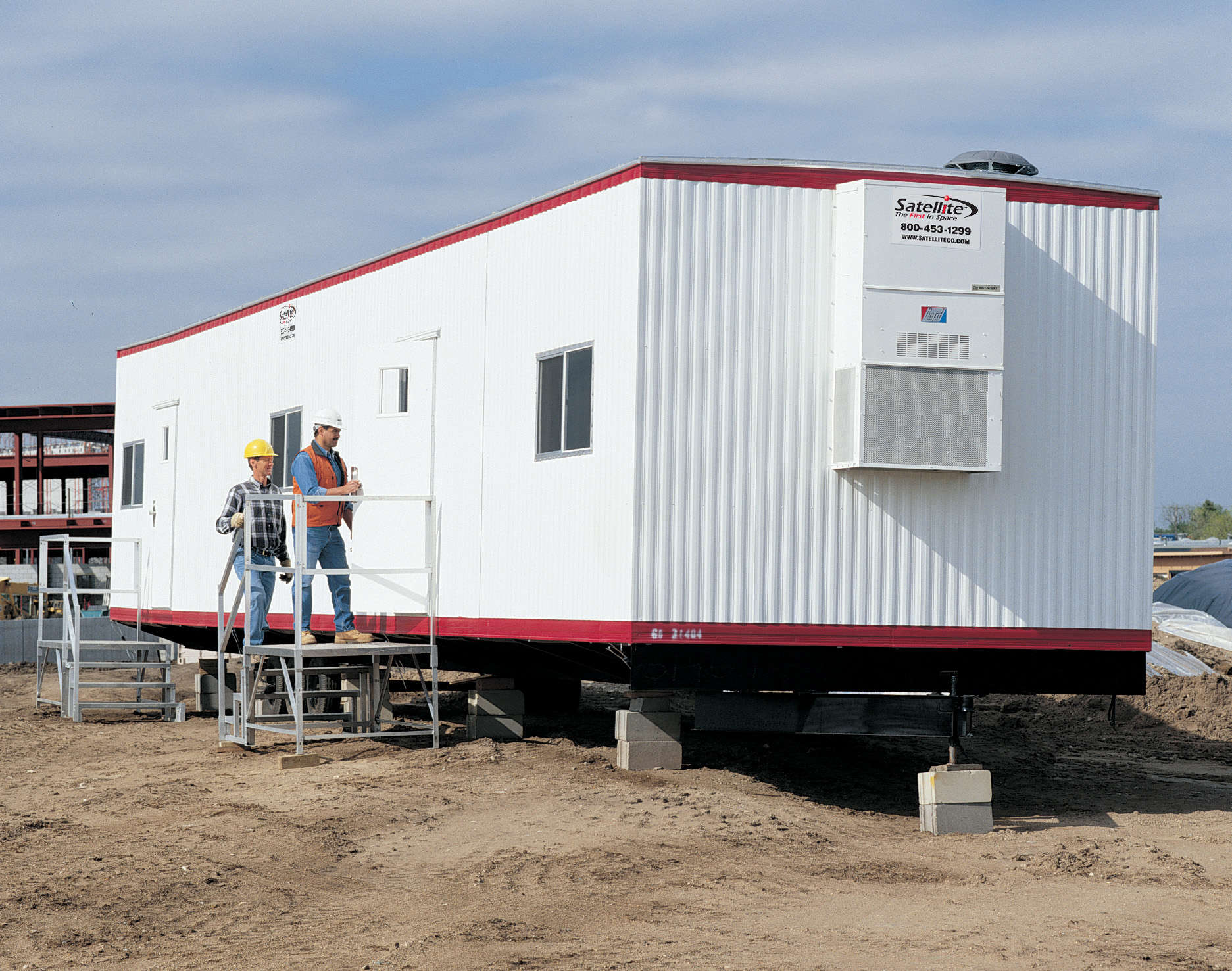 Single-Wide Mobile Offices from Satellite Shelters