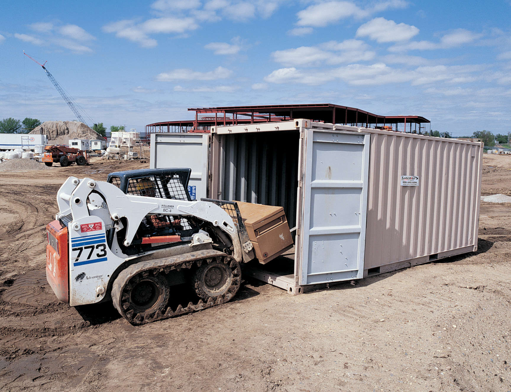 Storage Containers from Satellite Shelters