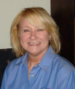 Debbie White with Satellite