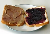 Peanut Butter & Jelly Sandwhich