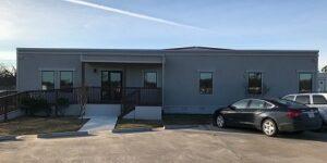 Satellite Shelters Houston Office Modular Building Exterior