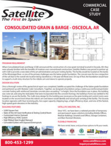 Satellite Shelters Inc. Case Study Consolidated Grain & Barge