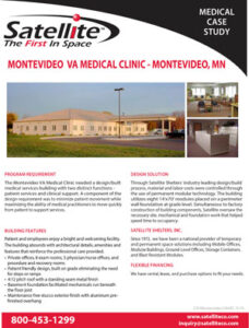 Satellite Shelters, Inc. Montevideo VA Medical Clinic