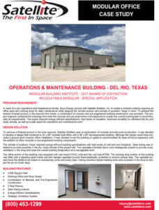 Operations & Maintenance Building