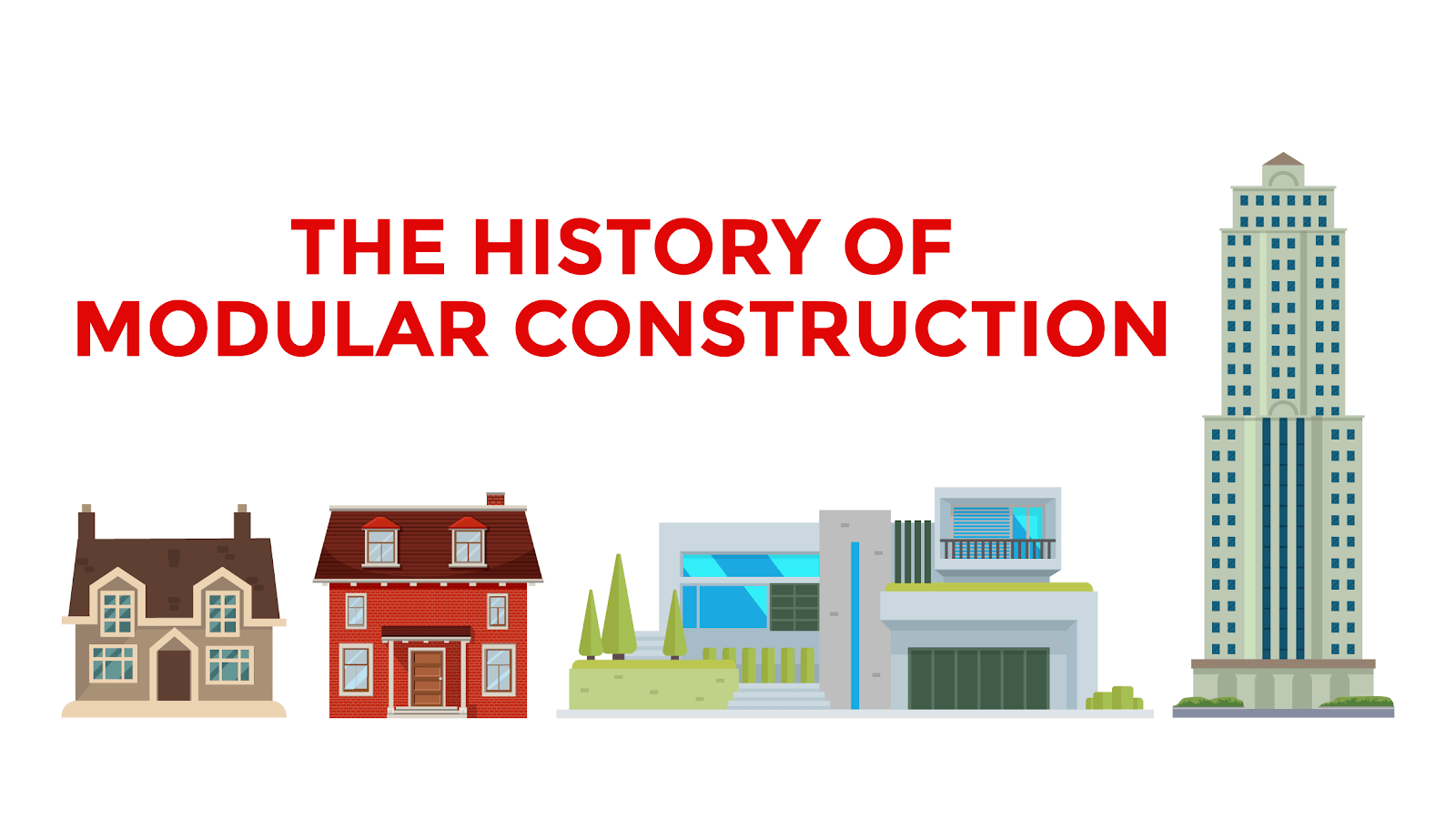 the history of modular construction with satellite shelters