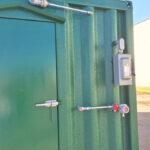 BRM Control Room Exterior Door