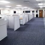 Nuclear Engineering Office Interior Cubicles