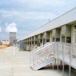 Nuclear Plant Exterior Entrance