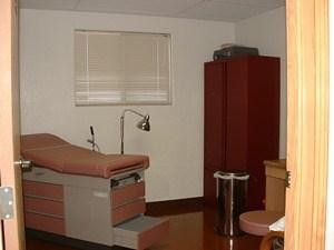 Satellite Medical Modular Interior exam room