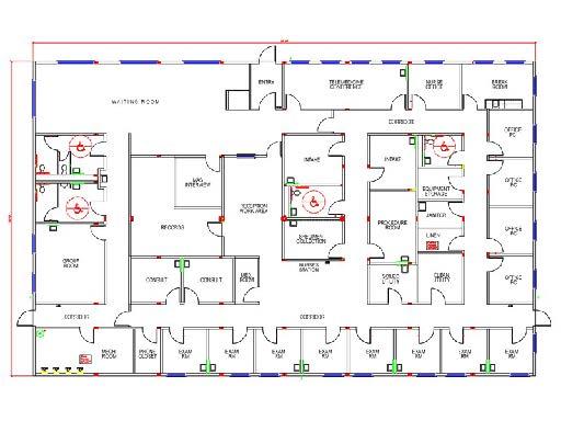 Satellite Medical Modular VA Medical Ctr Floor Plan