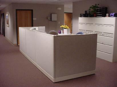 Modular medical building nurse station