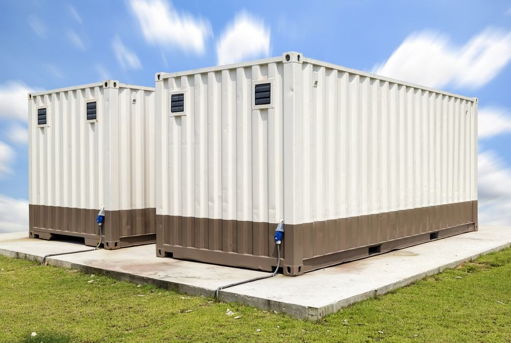 Twin modular buildings